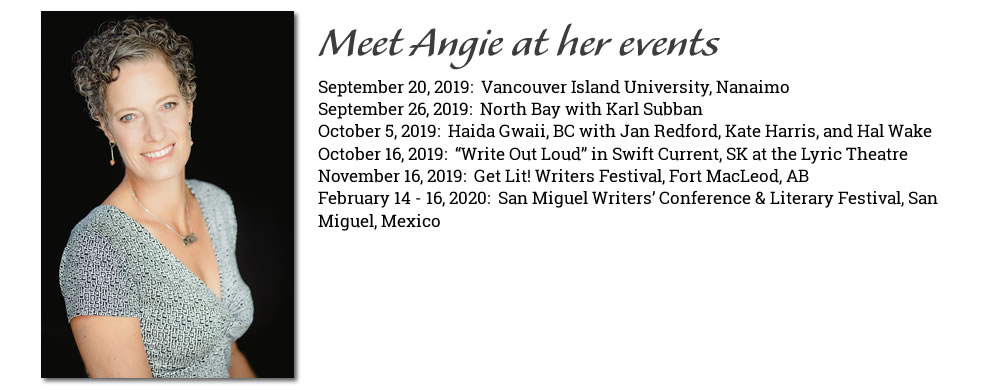 Angie Abdou's Upcoming Events